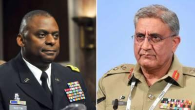 US Defence Secretary made important telephonic call to Pakistani COAS General Qamar Bajwa
