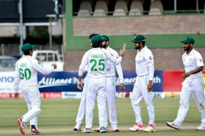 Pakistan thrashes Zimbabwe by an innings and 116 runs in first test match