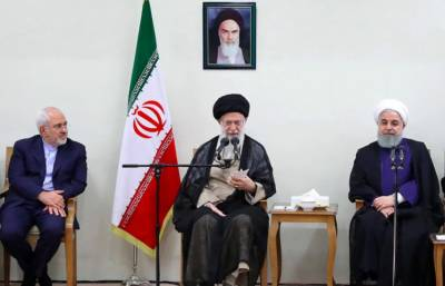 Iranian supreme leader strongly reacts over Foreign Minister Zarif remarks against military influence in diplomacy