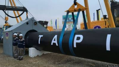 New developments reported over TAPI transnational project