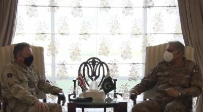 Pakistani Army Chief held important meeting with UK Army CDS General Sir Nicholas