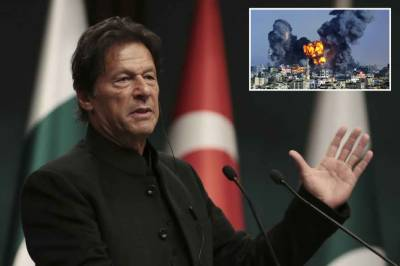 Pakistani PM Imran Khan strongly responds over Israeli barbarism against Palestinians