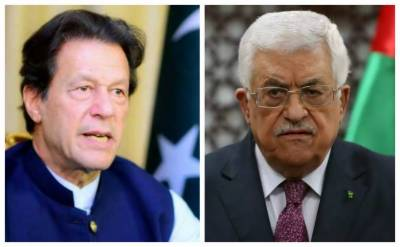 PM Imran Khan held important telephonic call with Palestinian President Mehmood Abbas