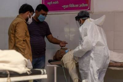 Coronavirus infections play havoc in India with dead bodies floating in Ganges River