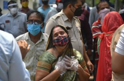 India sets a new world record for deaths in a single day from Coronavirus