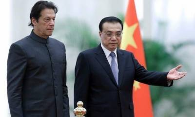 PM Imran Khan holds telephonic conversation with Chinese premier Mr Li Keqiang