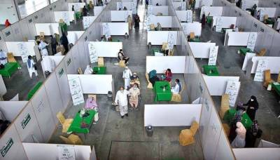 Pakistan sets a new COVID -19 vaccination record in a single day