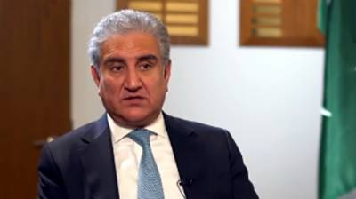 Pakistani FM Shah Mehmood Qureshi compares situation in Palestine with Occupied Kashmir