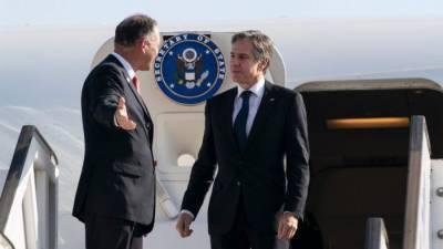 US Secretary of State arrived in Tel Aviv on Mission Israel