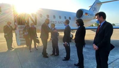 President UNGA Volkan Bozkir landed in Pakistan on three day visit