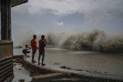 Yet another cyclone in India plays havoc