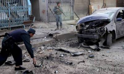 Afghan district Chief hit with a bomb blast