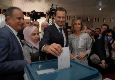 Bashar al Assad re elected for fourth term as Syrian President