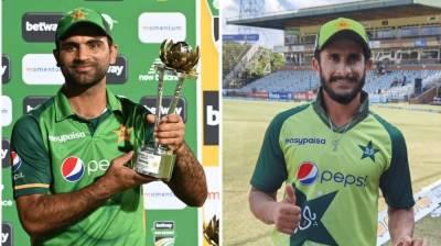 Big news for the star Pakistani players Hasan Ali and Fakhar Zaman