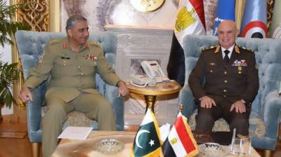 Pakistani and Egyptian Air Defence forces commenced joint military exercise
