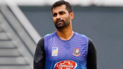 Bangladeshi Skipper Tamim Iqbal fined