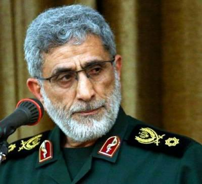 Al Quds Force Chief warning to the Israel