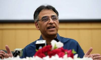 Asad Umar compares mortality rate from Coronavirus in India with Pakistan