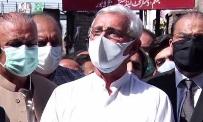 Jehangir Tareen makes a stern warning to the PTI government