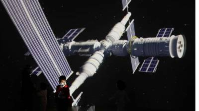 China set to make history with launch of first space station along with three astronauts