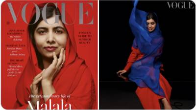 Malala Yousafzai stuns all with her cover photo in British Magazine Vogue