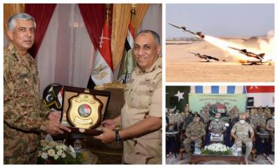 Sky Guards - 1: Pakistan Egypt joint Air Defence Exercise concluded in Cairo