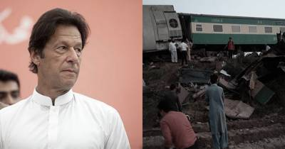 PM Imran Khan for strict action against Ghotki train crash responsible authorities