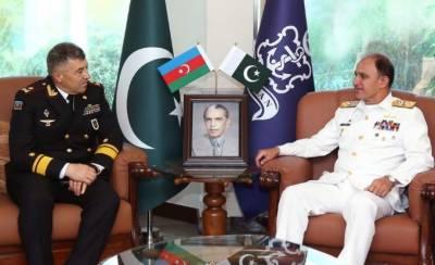 Azerbaijan Navy Chief held important meeting with Pakistan Naval Chief