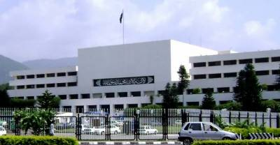DG ISI briefing at the Parliament House over National Security