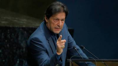 Pakistani PM Imran Khan hits out hard against Indian government