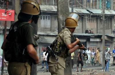 State Terrorism: Indian troops martyred two Kashmiri youth in IOK in fake encounter