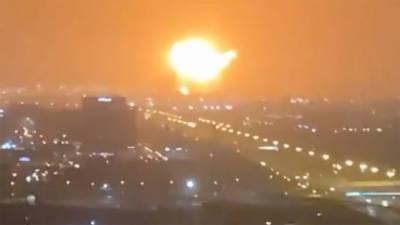 Massive explosion erupted at Dubai Jebel Ali Port