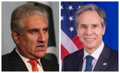 US Secretary of State held important telephonic conversation with Pakistani FM Qureshi