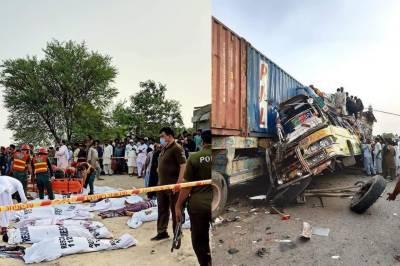 Death toll rises in Train Bus collision in DG Khan