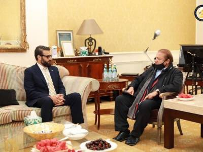 Nawaz Sharif met with Afghanistan NSA Mohib on third country's intervention