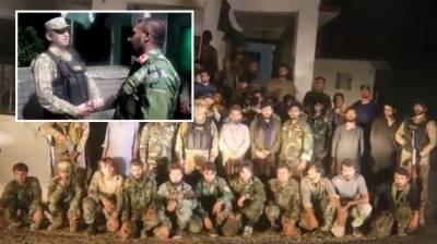 Pakistan repatriated 46 Afghan soldiers including 5 officers