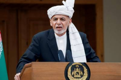 Afghan President Ashraf Ghani fled Kabul with four cars and a helicopter full of cash: International media report