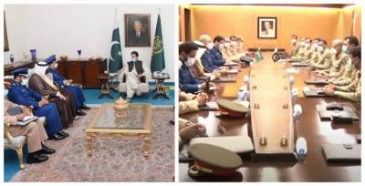 High level Saudi Military delegation held meetings with Pakistani PM and COAS