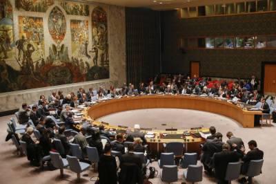 UN Security Council press release over the Afghanistan scenario