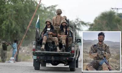 Pakistan Army Captain martyred in a terrorist attack in Balochistan