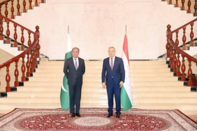 Pakistani FM Qureshi held high level meeting in Tajikistan on his important four nation tour