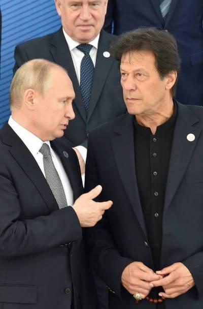 Pakistani PM Imran Khan held important telephonic conversation with Russian President Putin