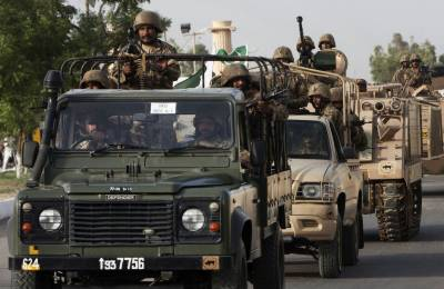 One Terrorist killed, six arrested in an IBO by Pakistan Army