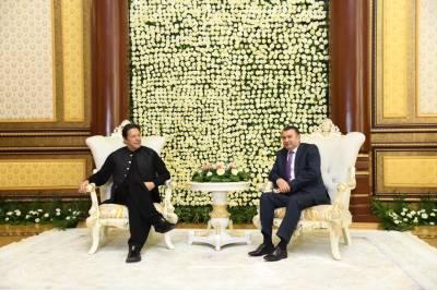 PM Imran Khan in Tajikistan to attend SCO summit session