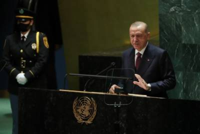 Turkish President Tayyip Erdogan strongly raises Kashmir issue in UN General Assembly