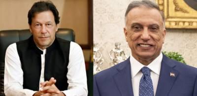 Pakistani PM Imran Khan held important telephonic conversation with Iraqi PM