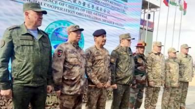 CJCSC General Nadeem Raza participates in SCO Chiefs of General Staff meeting in Russia