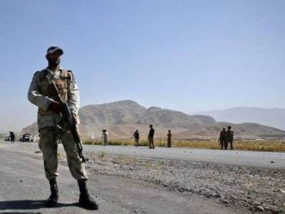Pakistani secuirty checkpost comes under terrorist attack in Balochistan, martyrdom reported