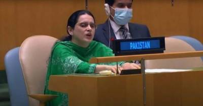 Pakistani visually impaired female diplomat makes history at the UN